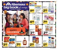 Albertsons Big Book of Savings from october 6 to 26 2021