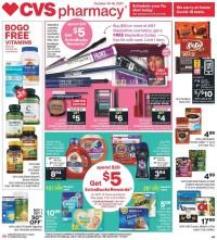CVS Pharmacy Ad from october 10 to 16 2021