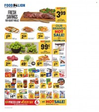 Food Lion (NC) Ad from october 9 to 16 2021