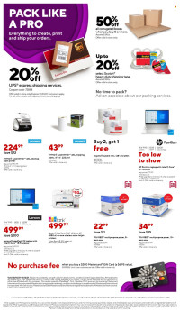 Staples Ad from october 10 to 16 2021