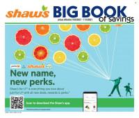 Shaws Big Book of Savings from october 8 to november 4 2021