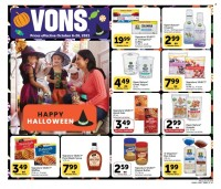 Vons Ad from october 6 to 26 2021
