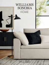 Williams-Sonoma Fall 2021 Home Ad from october 1 to december 31 2021