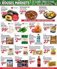 Rouses Markets Ad from september 29 to october 27 2021