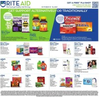 Rite Aid Ad from october 10 to 16 2021