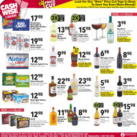 Cash Wise Liquor Ad from october 10 to 16 2021