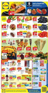 Lidl Ad from october 13 to 19 2021