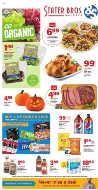 Stater Bros Markets Ad from october 12 to 19 2021