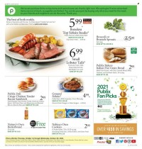 Publix Ad from october 15 to 22 2021