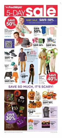 Fred Meyer 5 day sale