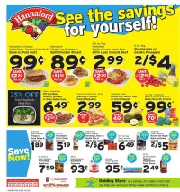 Hannaford Ad from october 9 to 16 2021