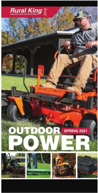 Rural King Spring 2021 Outdoor Catalog