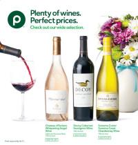 Publix Wines Selection