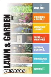 Menards Lawn & Garden Catalog 2021