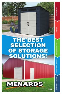 Menards Outdoor Storage Catalog 2021