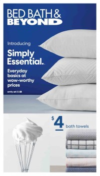 Bed Bath & Beyond Ad from may 10 to august 29 2021