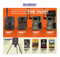 Academy Sports + Outdoors Hunting Ad from july 6 to august 1 2021