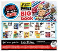 ACME Markets Ad from july 9 to august 5 2021
