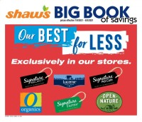 Shaws Ad from july 9 to august 5 2021