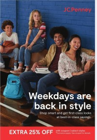 JCPenney Ad from july 12 to august 22 2021