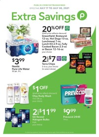 Publix Ad - Extra Savings - from july 17 to august 6 2021