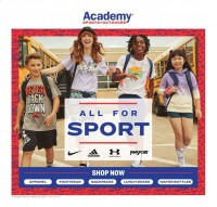 Academy Sports + Outdoors Ad from july 19 to august 22 2021