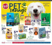 Big Y Ad - Pet Savings - from july 22 to august 18 2021