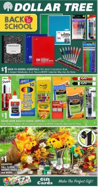 Dollar Tree Ad from july 25 to august 14 2021