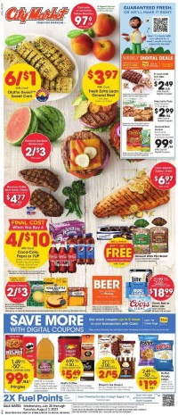 City Market Ad from july 28 to august 3 2021