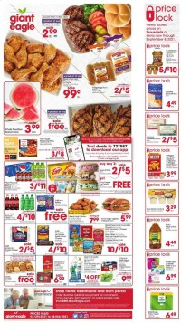 Giant Eagle Ad from july 29 to august 4 2021