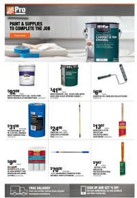Home Depot Pro Ad from july 26 to august 2 2021