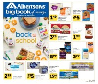 Albertsons Ad from july 28 to august 24 2021