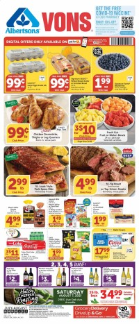 Vons Ad from july 28 to august 3 2021