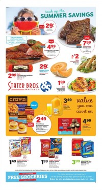 Stater Bros Markets Ad from july 28 to august 3 2021