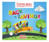 Stater Bros Markets Ad from july 28 to august 24 2021