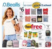 Bealls Florida Ad from july 28 to august 3 2021