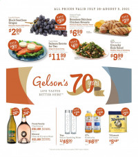Gelson's Ad from july 28 to august 3 2021