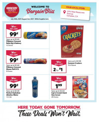 Grocery Outlet Ad from july 28 to august 3 2021
