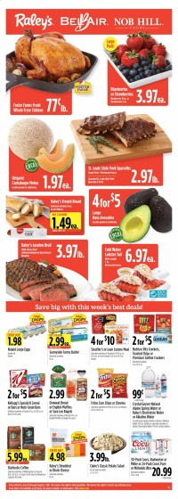 Raley's Ad from july 28 to august 3 2021