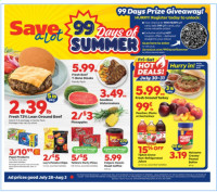 Save A Lot Ad from july 28 to august 3 2021
