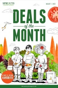 Sprouts Farmers Market Deals of the Month - August 2021