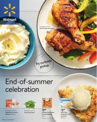 Walmart Ad from july 28 to august 31 2021