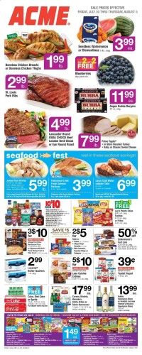 ACME Markets Ad from july 30 to august 5 2021