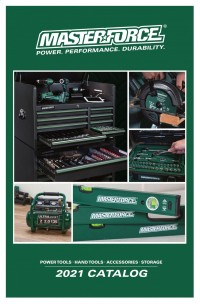 Masterforce Power Tools - Hand Tools - Accessories - Storage 2021 Catalog